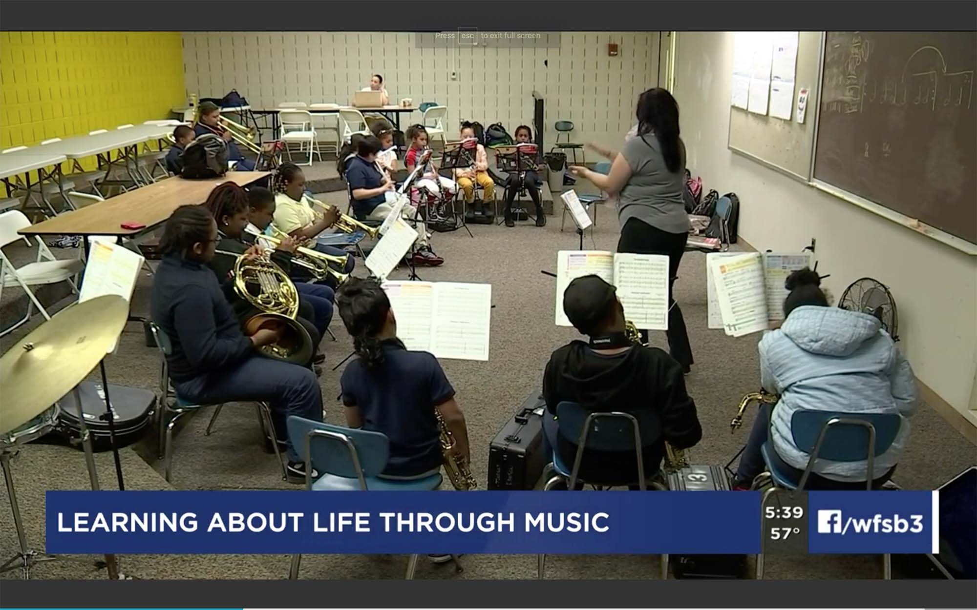 Music Matters class in session